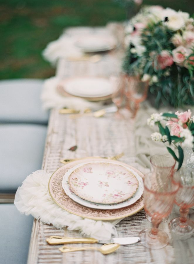 Vintage mixed elements: http://www.stylemepretty.com/vault/search/images/Decor