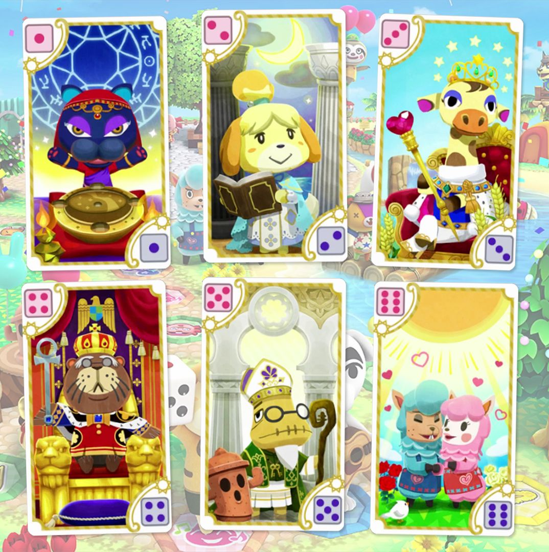 Animal Crossing Tarot Cards From Animal Crossing Amiibo Festival I Wish Nintendo Would Release A Whole Deck Animal Crossing Animal Crossing Qr Classic Card