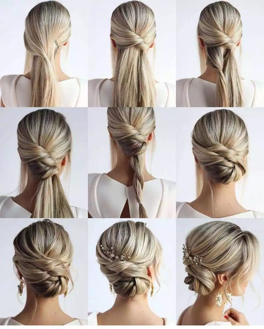 65 Women's Easy Hairstyles Step By Step DIY #easyhairstyles