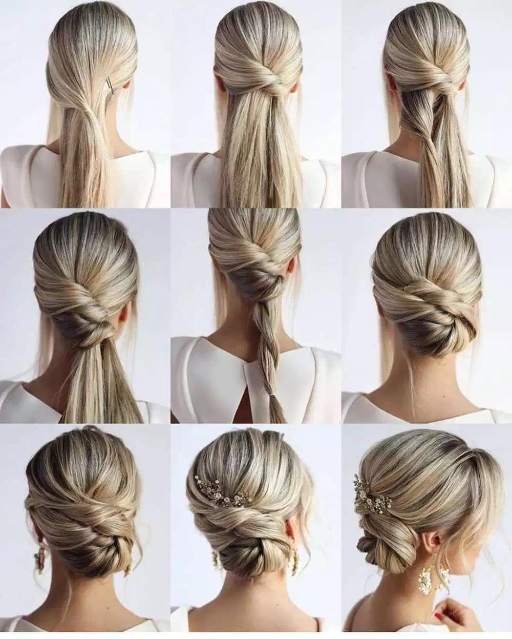 65 women's easy hairstyles step by step diy   easy
