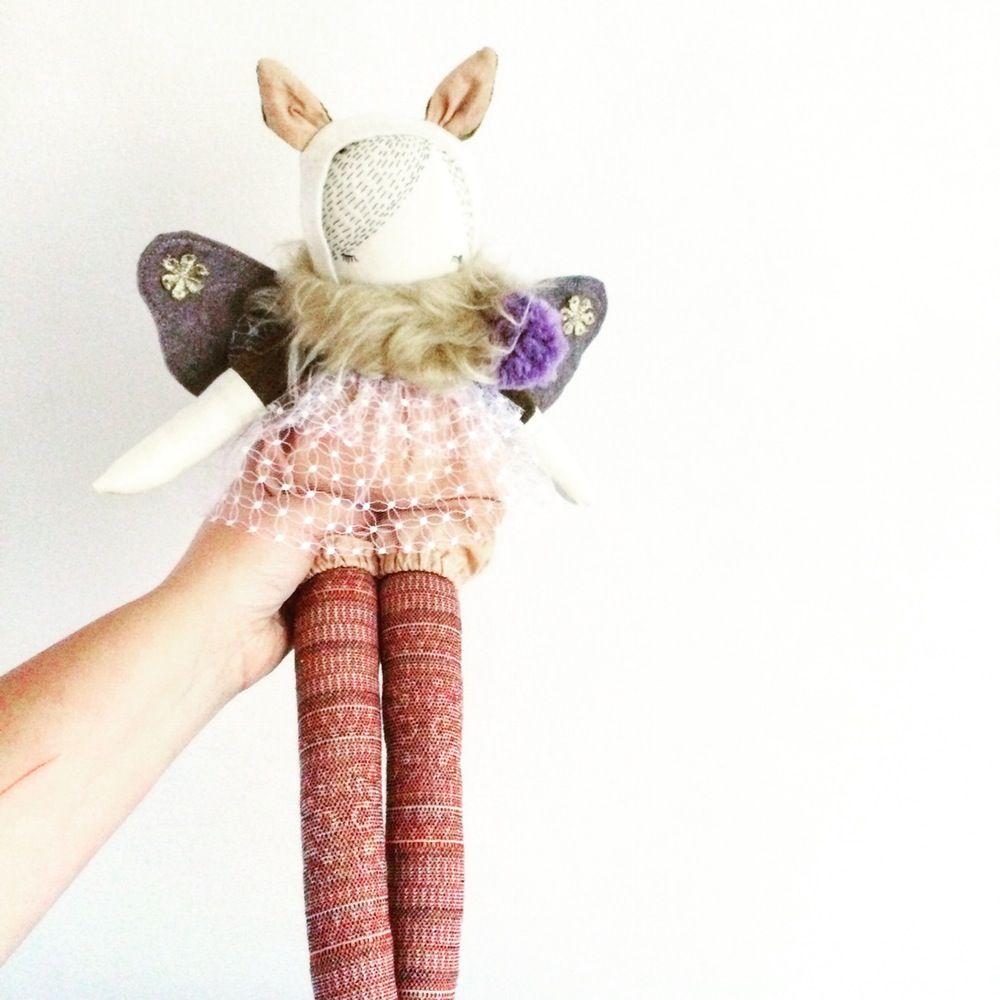 Image of Moth girl Finn