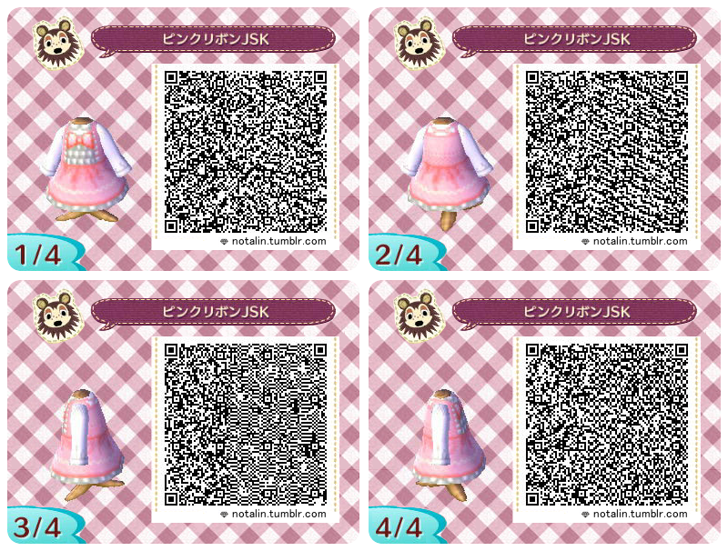 Animal Crossing New Leaf Qr Codes Boden Tumblr