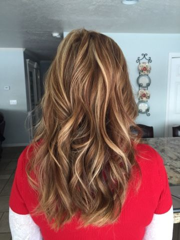 Golden Blonde Highlights For Brown Hair Hair Highlights Hair Coconut Oil Hair