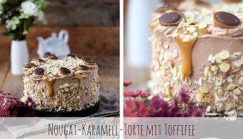 Toffifee Nougat-Karamell-Torte
