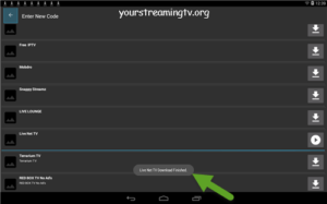 How To Install Live Net Tv On Your Android Device Your Streaming Tv Android Streaming Tv Installation