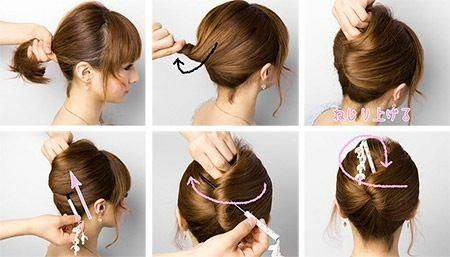 updo hairstyles for work lazy girl promhairdos