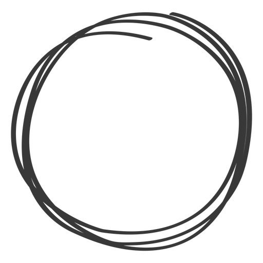 Hand Drawn Circle Element Transparent Png Svg Vector Circle Borders How To Draw Hands Circle