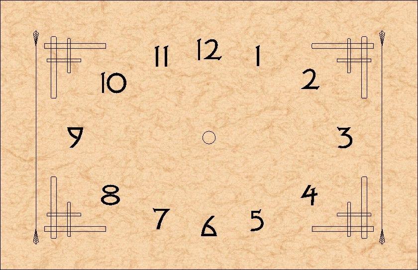 Arts Crafts Clock Dial 6 5 8 X 10 1 4 Clock Face Printable Clock Art Modern Clock