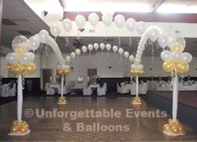 Balloon Dance Floor- this can even twinkle!
