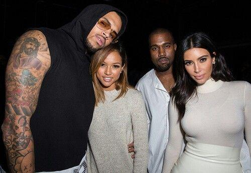 Chris Karrueche Kimye Chris Brown And Karrueche Chris Brown Girlfriend Chris Brown