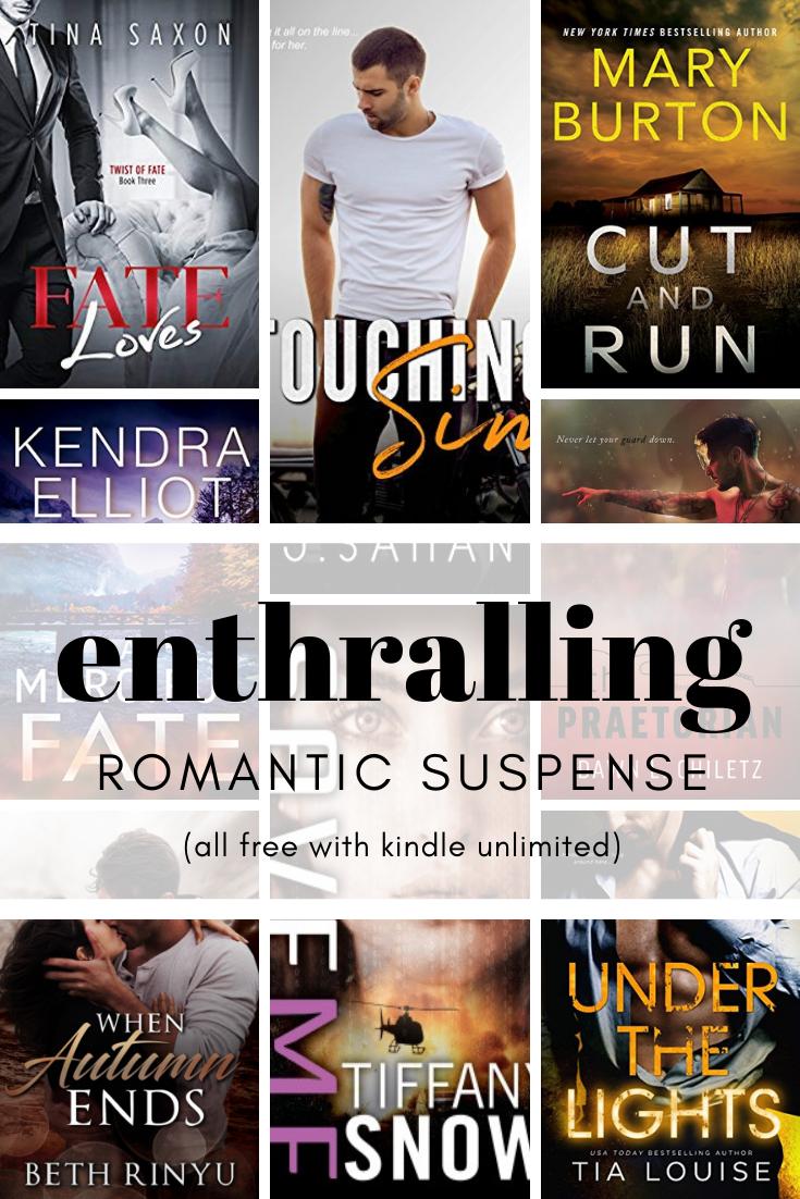 Kindle Unlimited Romantic Suspense Novels   HEA Novel