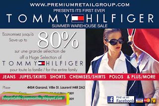 photograph regarding Tommy Hilfiger Outlet Coupon Printable titled Absolutely free Printable Tommy Hilfiger Coupon codes Printable Discount coupons