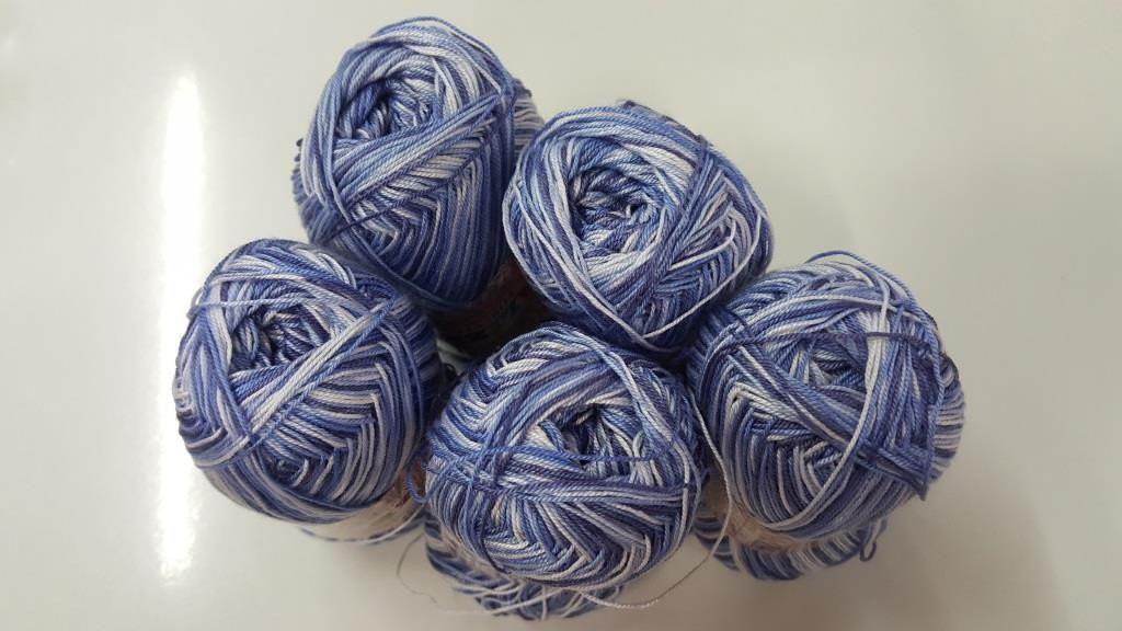 Bielo modrá Forever Melange - 5 x 50g (ušetríte 15%)