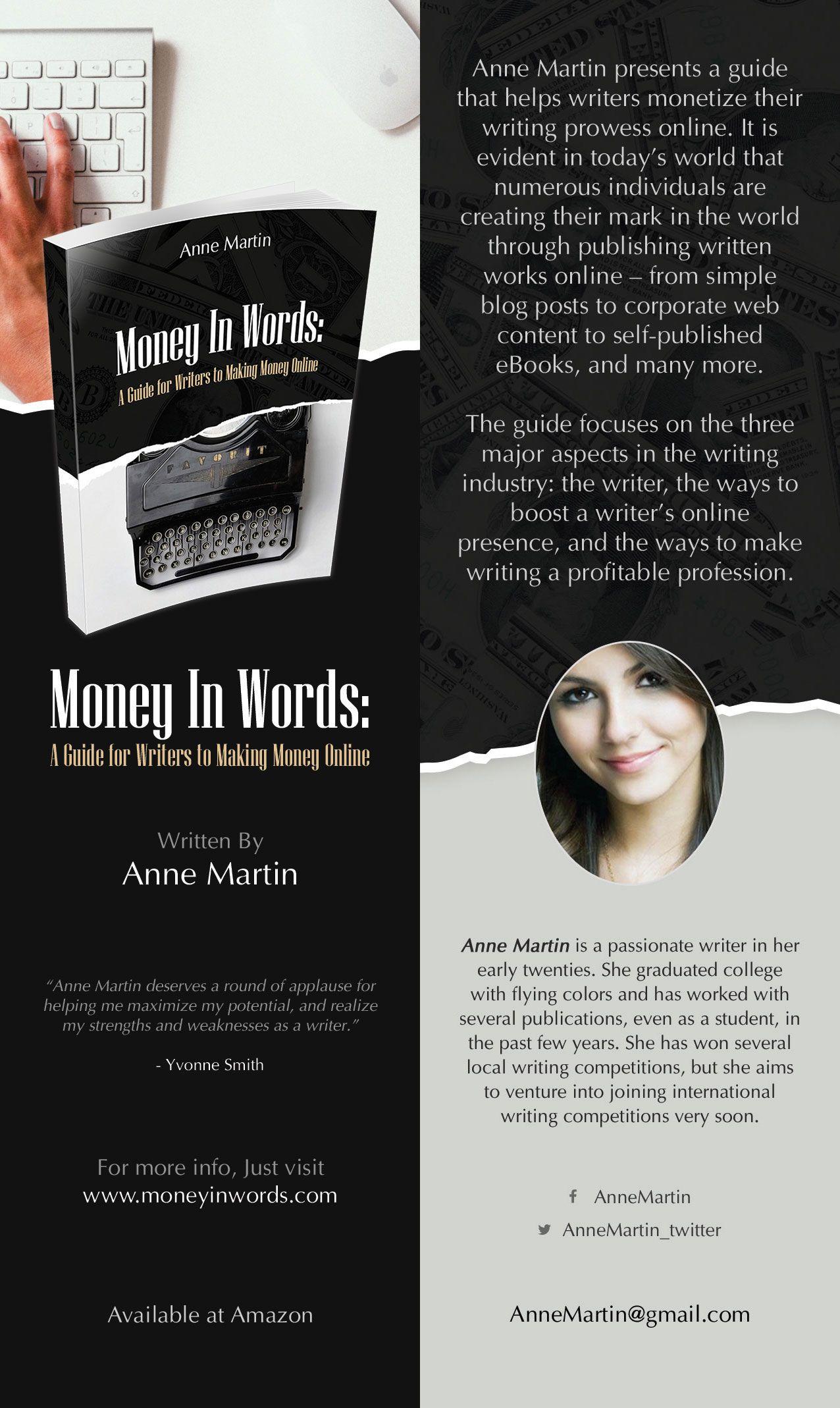 money in words book author bookmark bookmark author books book