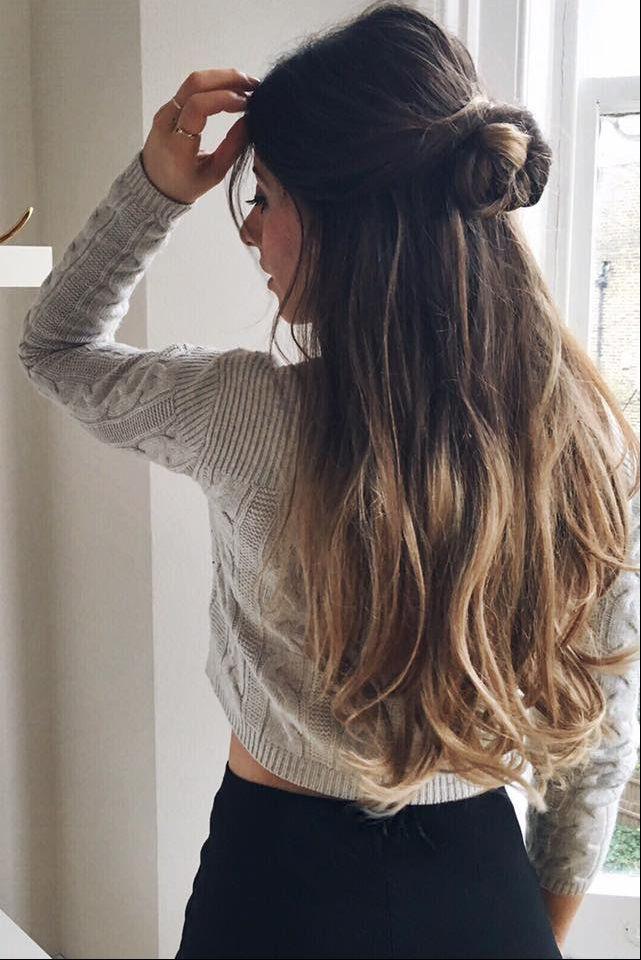 20 Classic Ombre Blonde Clip Ins 20 160g Hair Styles Hair Thin Fine Hair
