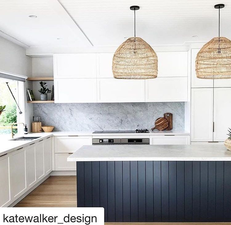 Kitchen Decor Ends: Black Island Bench But Poles On Front At Each End