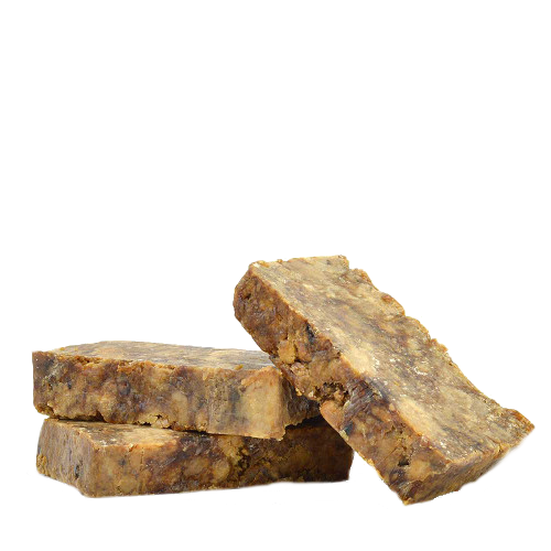Raw African Black Soap Organic From Ghana Pure Premium Quality 2 Ounces