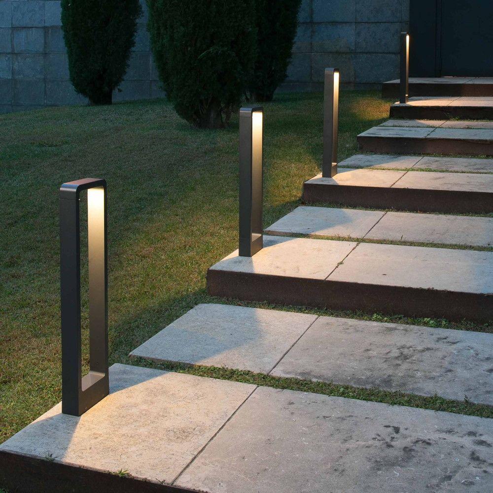 Led Wegeleuchte Das In Dunkelgrau 650 Mm Faro 75520 Aussenbeleuchtung Garten Rasenbeleuchtung Beleuchtung Garten