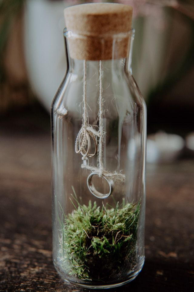 Idee für Eheringe an der Hochzeit | Trauringe #Eheringe #trauringe #hochzeitsdeko