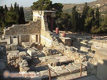 Temple of Knossos, Crete, Greece