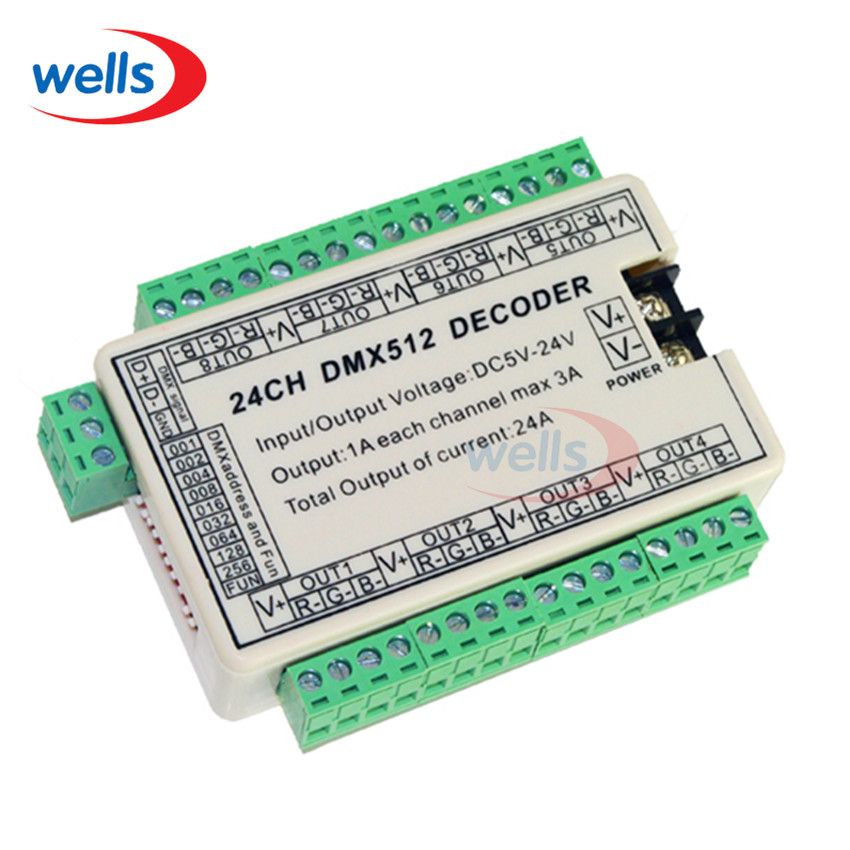 24ch easy dmx dmx512 decodercontrollerdrivedc5v 24v 8 groups 24ch easy dmx dmx512 decodercontrollerdrivedc5v 24v 8 groups output mozeypictures Gallery