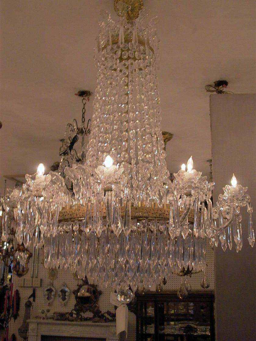 Waterford crystal chandelier 36w x 48h 124 lights waterford waterford crystal chandelier 36w x 48h arubaitofo Images