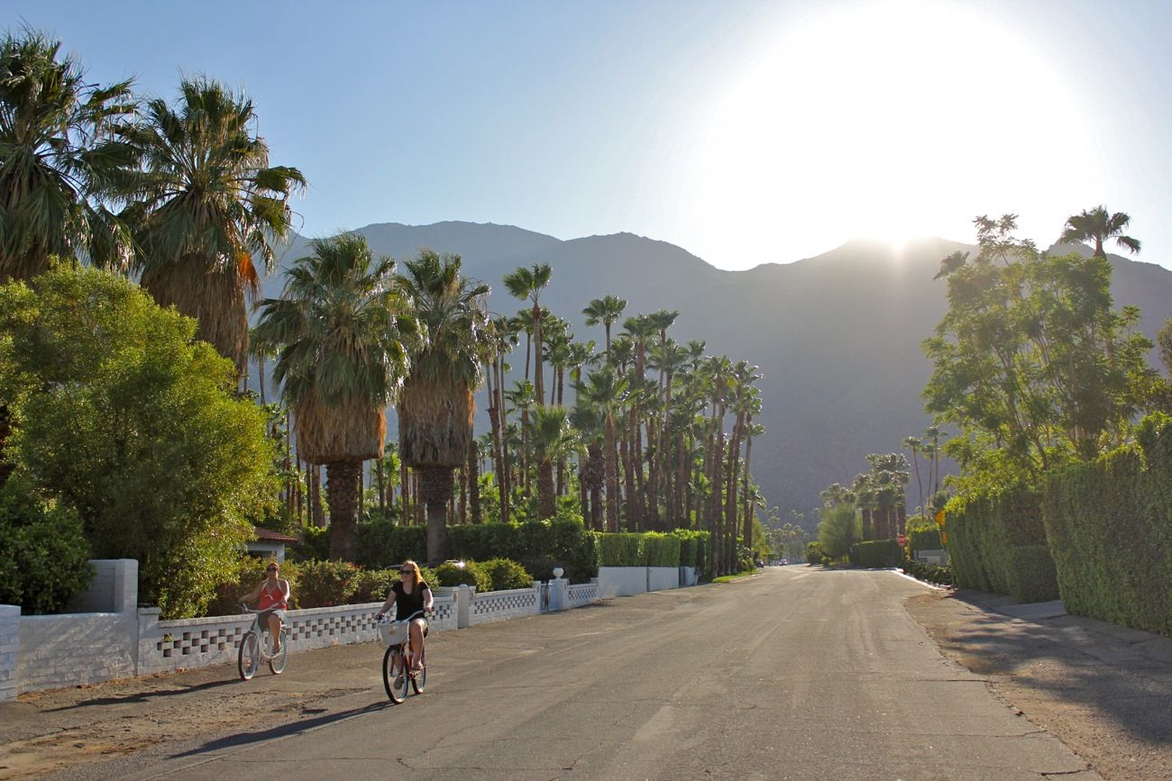 Another sunny day in Palm Springs