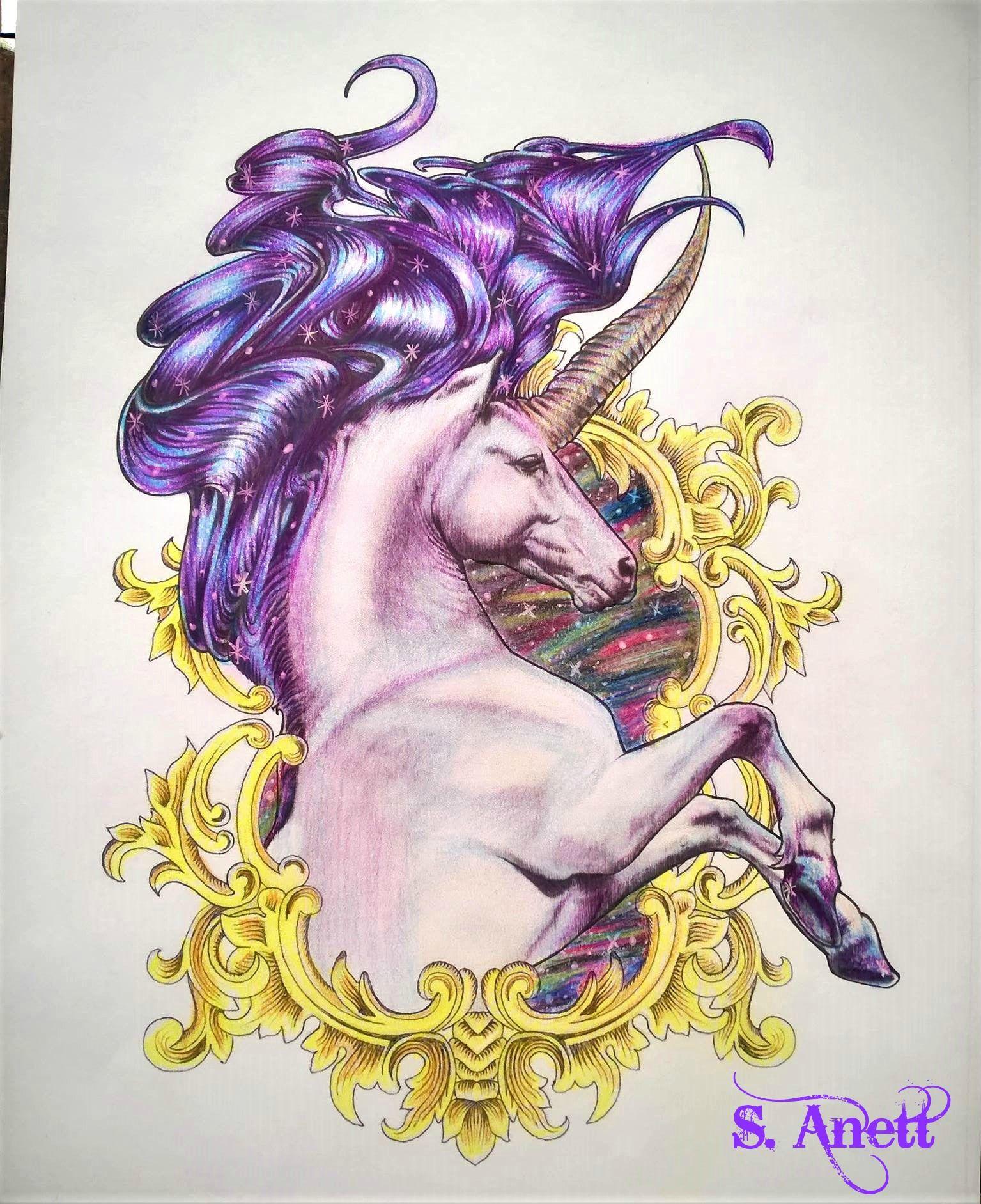 Bennett Klein Colour My Sketchbook Mythic Kleuren Kleurplaten
