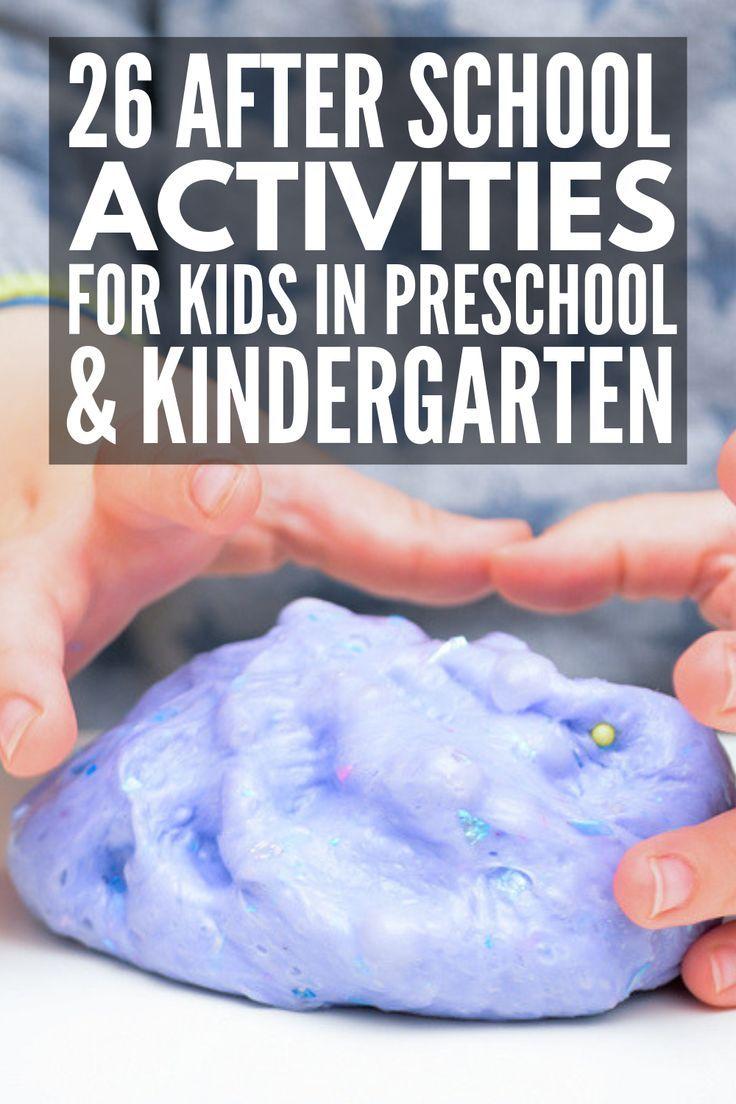 26 Simple & Fun After School Activities for Kids We Love