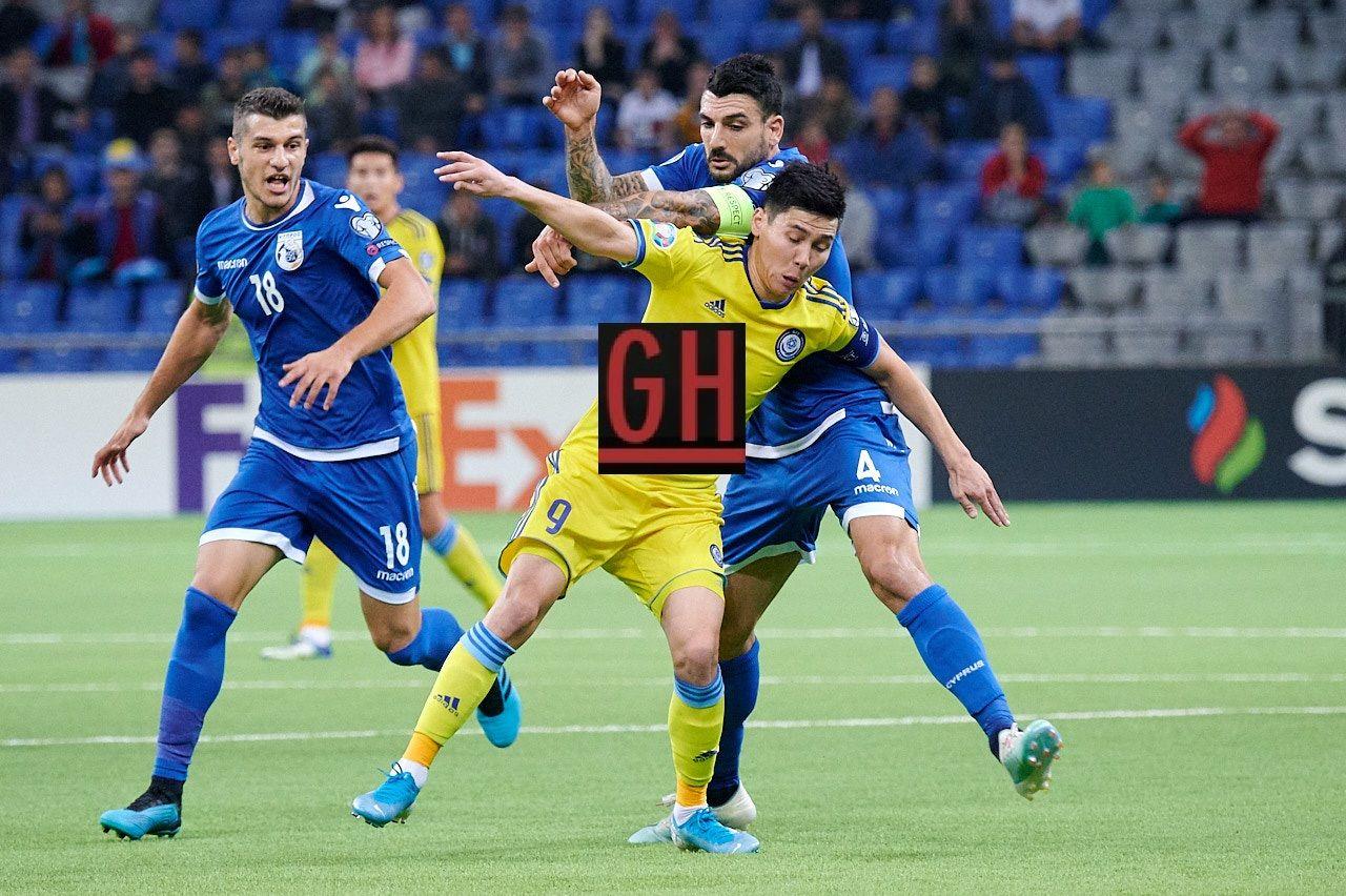 Kazakhstan 1 2 Cyprus Football Today Kazakhstan Football Euro