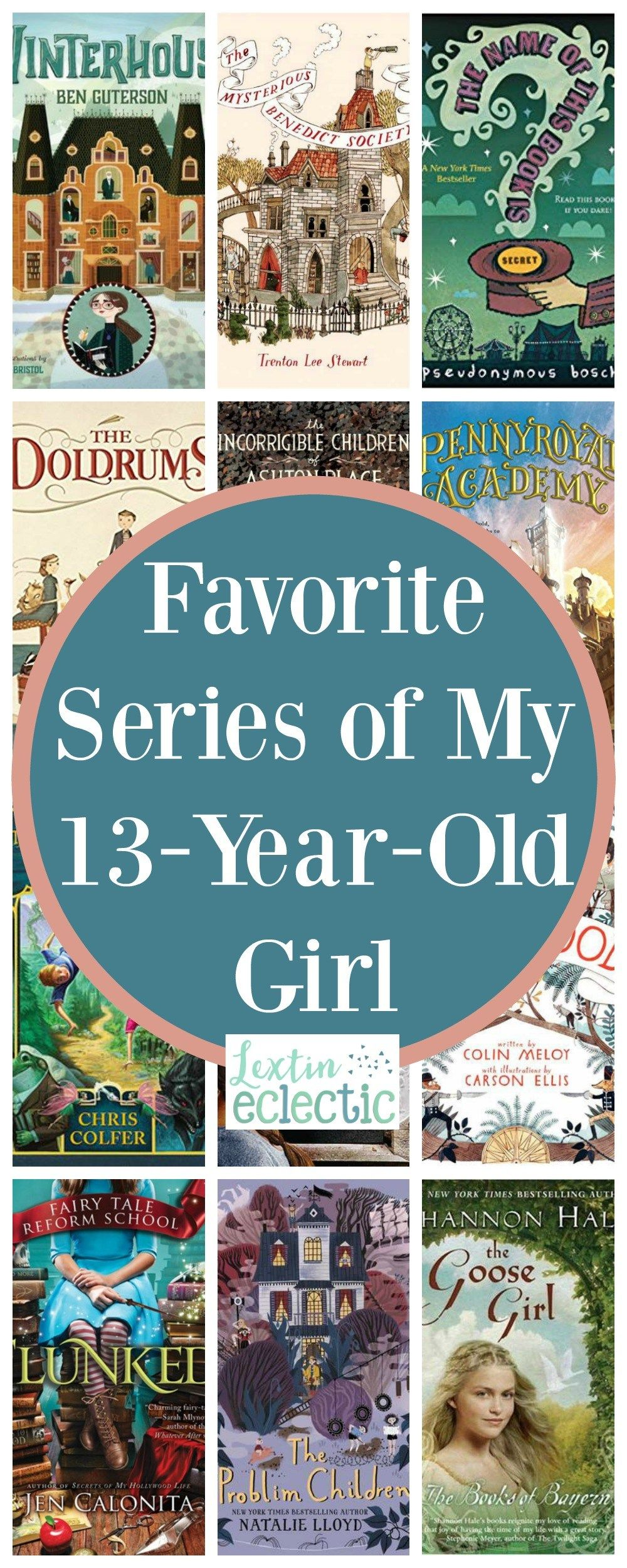 Favorite Series Of My 13 Year Old Girl Lextin Eclectic In 2020 Books For Teens Books Literature Books