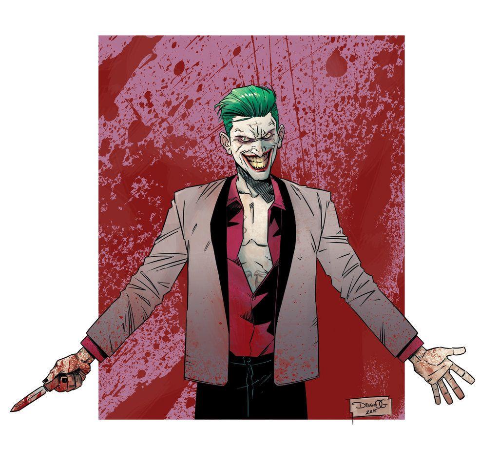 Suicide Squad - Joker by Diego Olortegui Gonzales