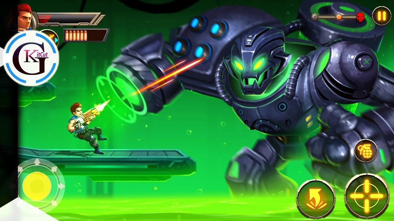 Metal Squad Game All Bosses   Shooting Games For Android