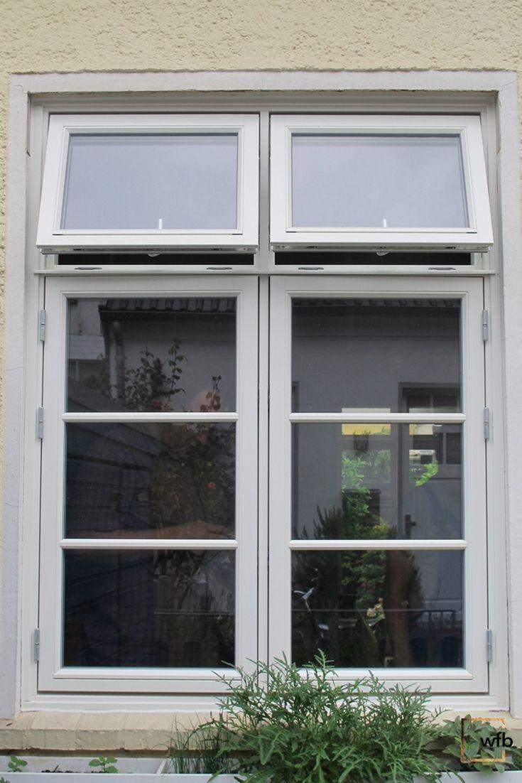 Dänisches Fenster | auswärts öffnend | mit Oberlicht | Architektur ...