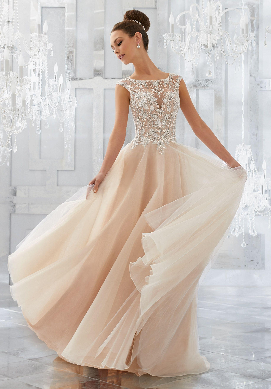 Mori lee gold wedding dress  Mirella Wedding Dress  Mori Lee Gowns  Pinterest  Wedding dress