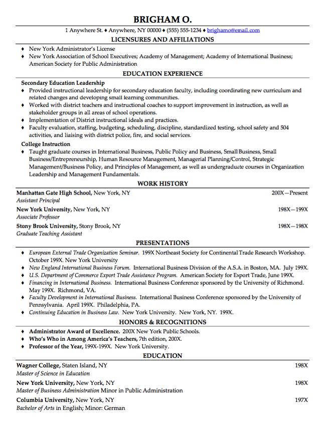 Graduate Teaching Assistant Resume Example Resume Examples Resume Template Examples Instructional Leadership
