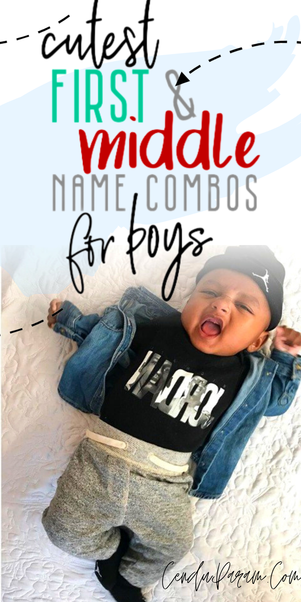 Uncommon First and Middle Name combinations for baby boys