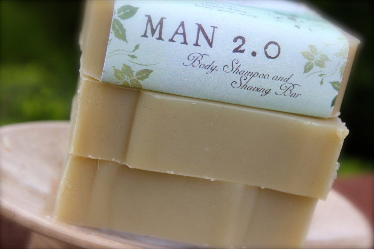 MAN 2.0 Body, Shampoo and Shaving Bar Shampoo bar, Body