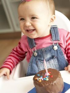 How to make a High Chair Birthday Banner