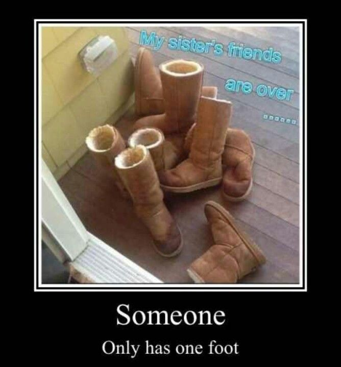Count the boots!
