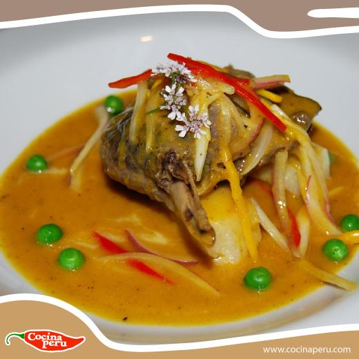La comida fusión esta de MODA y aquí dejamos un ejemplo perfecto ¡Ceviche de Pato! Aprende a prepararlo aquí: http://www.cocinaperu.com/platos-de-fondo/ceviche-de-pato