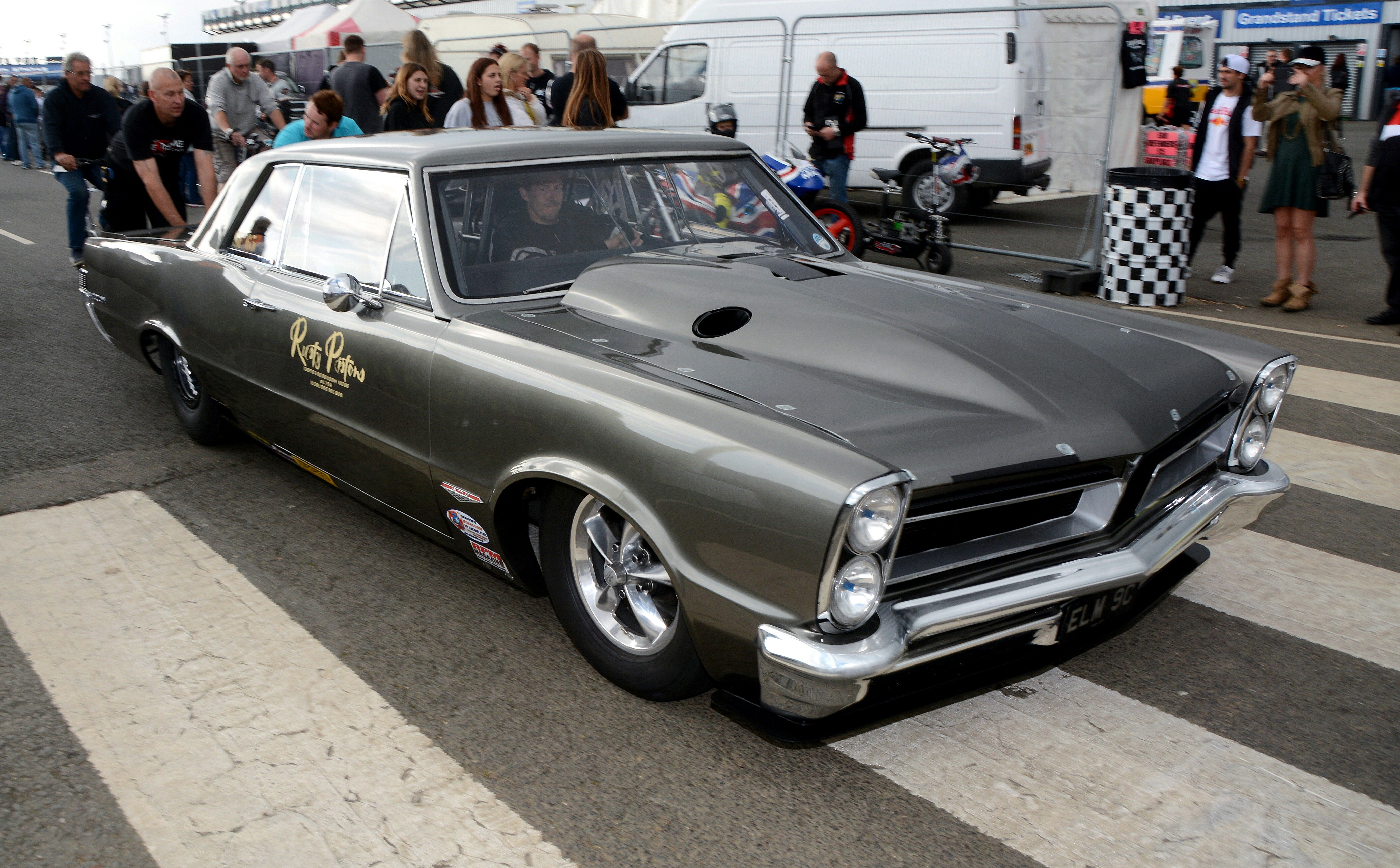 Mark todd 1965 project gto 580ci aluminum donovan big block with twin 88mm turbo s
