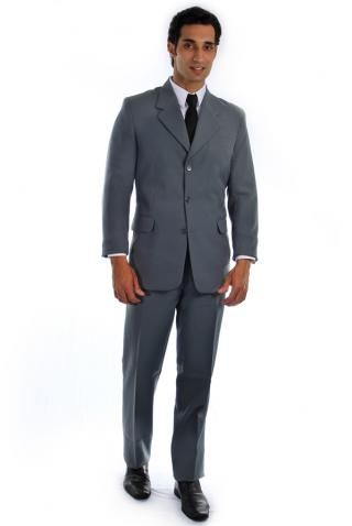 Terno Social Oxford Cinza - Uniforme Masculino - Yoshida Hikari - Uniformes  Sociais para Empresas - uniformes sob medida ed9bfd13560