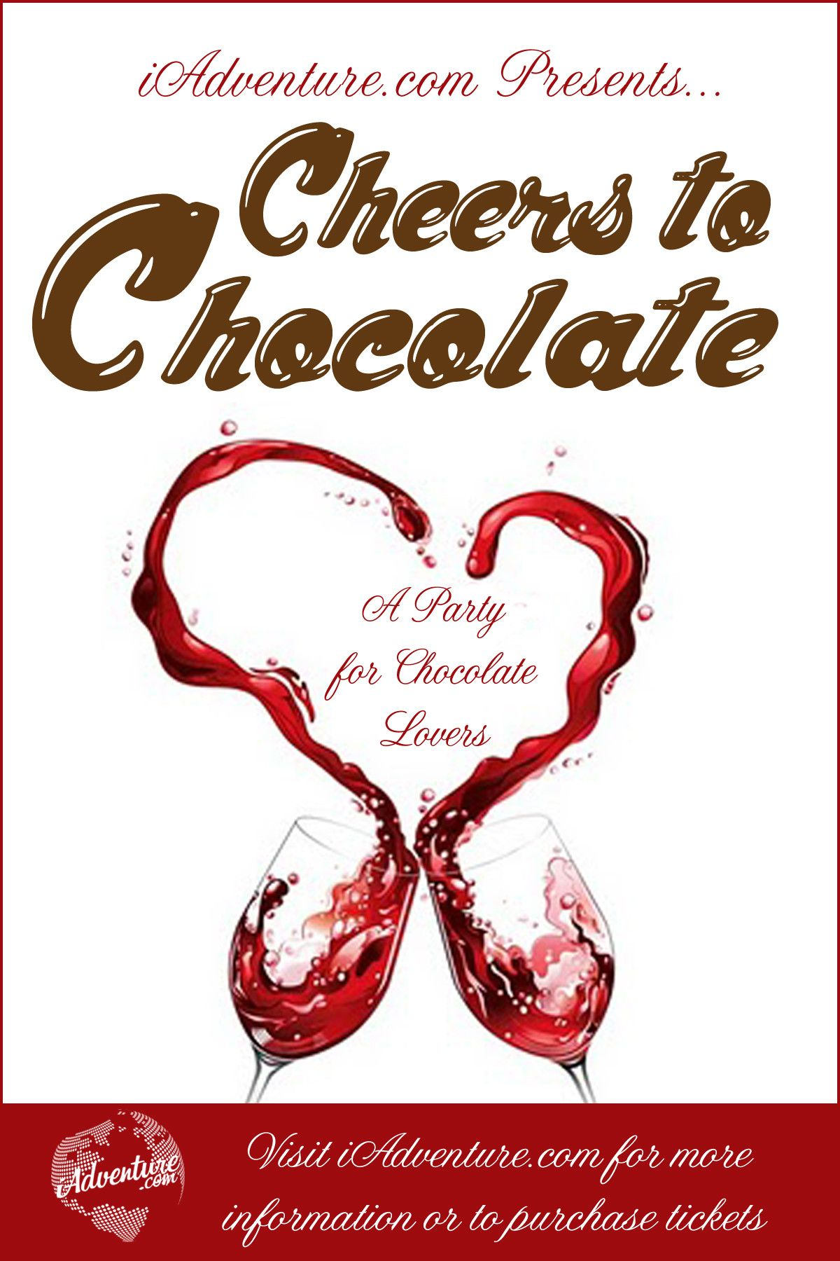 Cheers To Chocolate Event In Nyc Wine Festival Chocolate Lovers Heart Sunglass