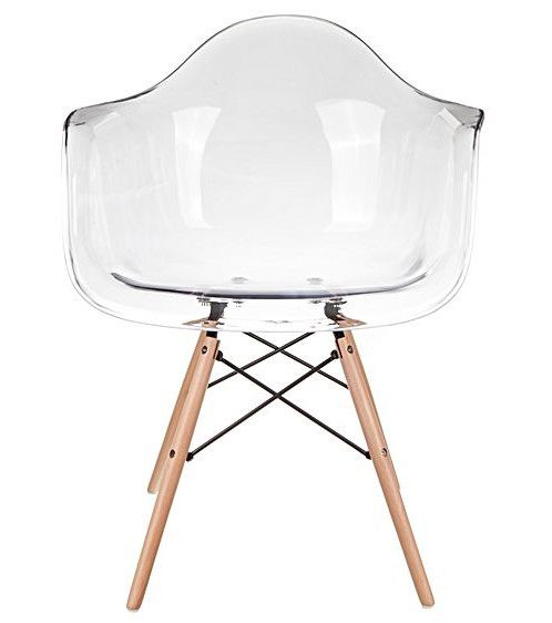 Buy Eames Replica Designer Arm Chair (Clear) Online On FortyTwo From Just  S$79.90 Now! Next Day Delivery U0026 7 Day Money Back Guarantee On Selected  Products!