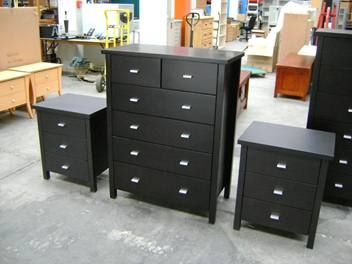 $550 - Master 3pce drawer combo deal Chocolate