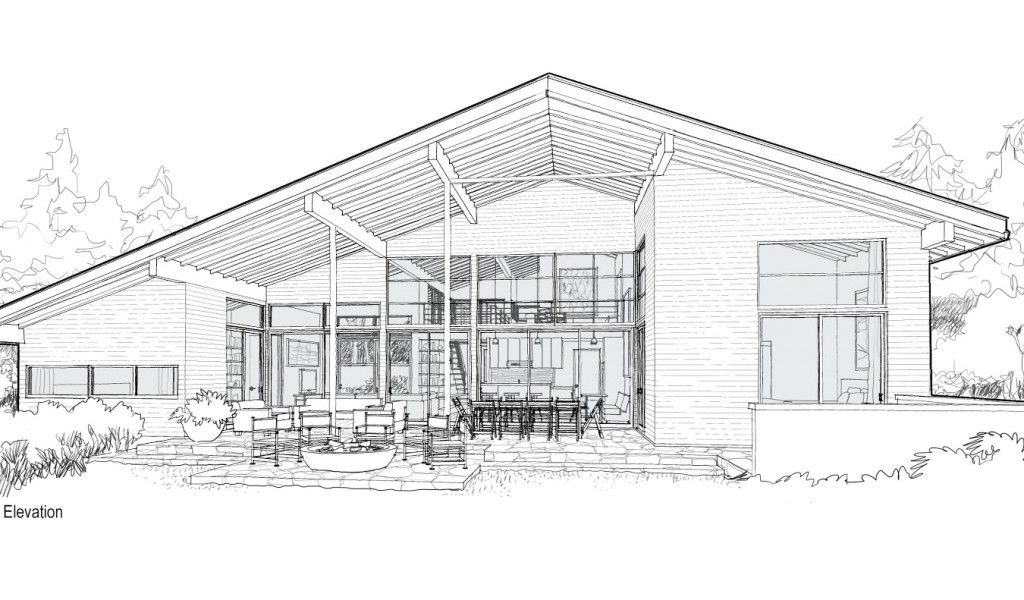 Sketches Of Modern Houses Google Search House Sketch Design