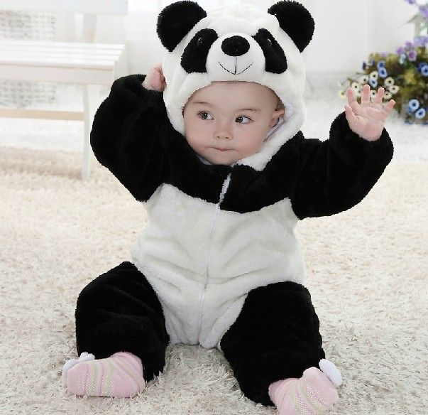1ae825e61 New arrival baby boy character rompers, cute baby outfits,baby boy panda  hoodies long