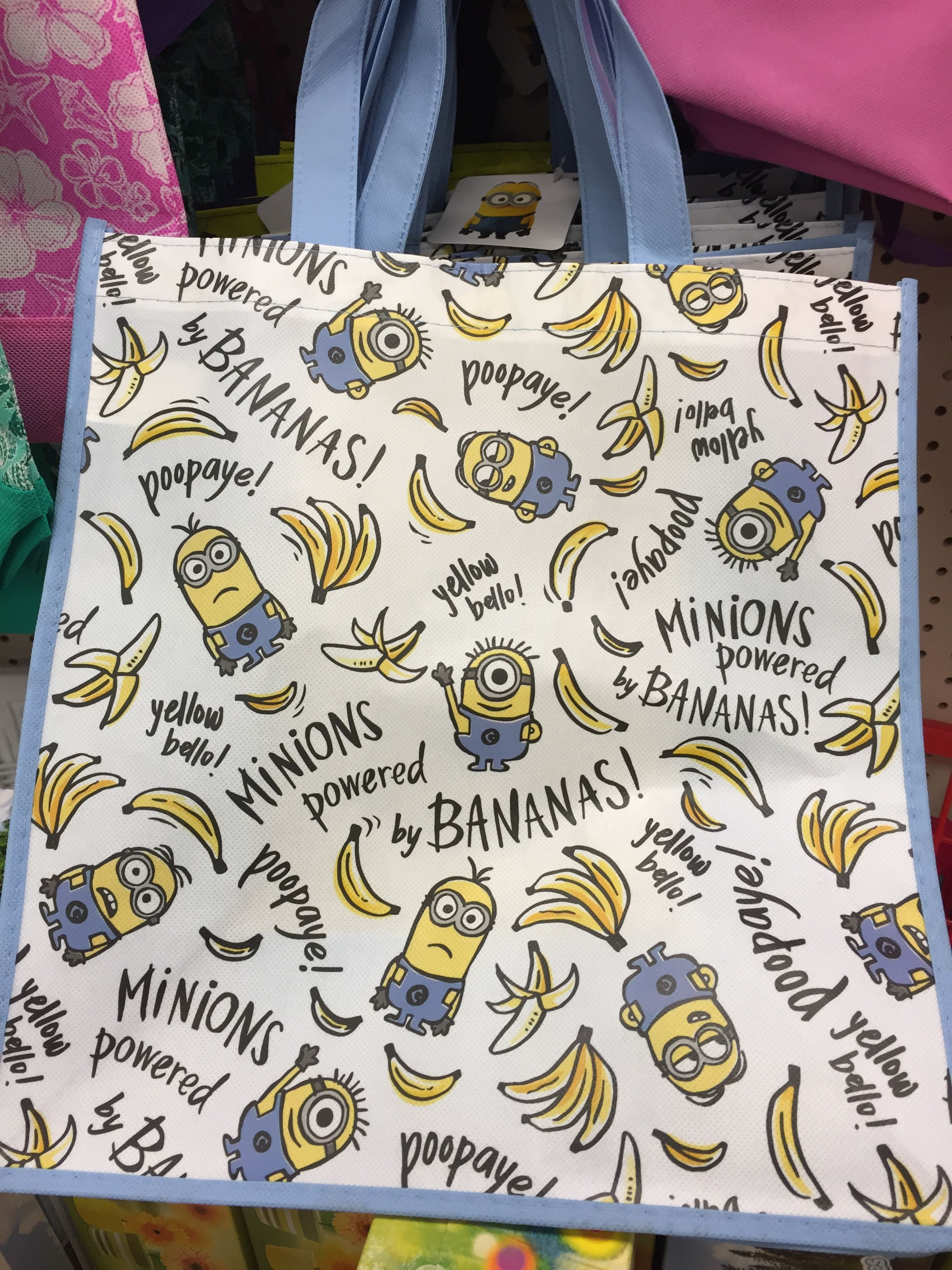 Minion Tote These Are New Ones I Haven T Seen Before