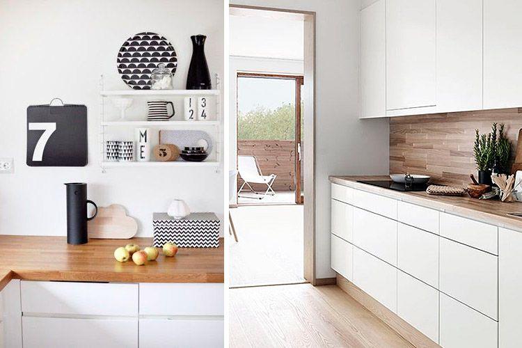Como decorar cocinas en estilo nórdico cocina Pinterest Estilo